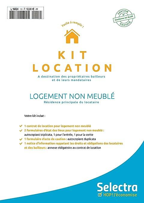 Kit Affitto Abitazione Vuoto Conforme Legge Alur (contratto + Atto Di  Cauzione + Stato Dei