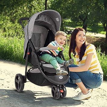 Amazon.com: HONEY JOY - Cochecito portátil para bebé ...