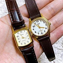 Amazon シチズン Q Q 腕時計 アナログ 防水 革ベルト Qa69 103 レディース ゴールド 国内メーカー 腕時計 通販