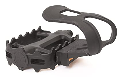 Bike Pedal Clips >> Amazon Com Retrospec Bicycles Resin Bike Pedal With Strapless