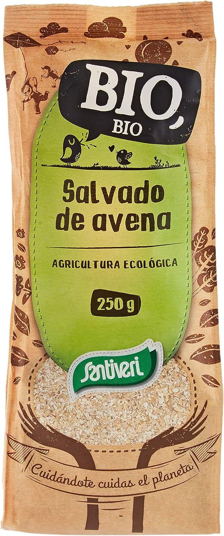SANTIVERI Salvado De Avena Bolsa 250 Gr - 200 g: Amazon.es ...