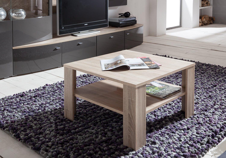 Presto Mobilia 11766 Couchtisch Beistelltisch Tisch Kolja 67 x 67 ...