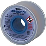 Mg Chemicals 400 Series # 4 fina trenza super Wick con RMA Flujo