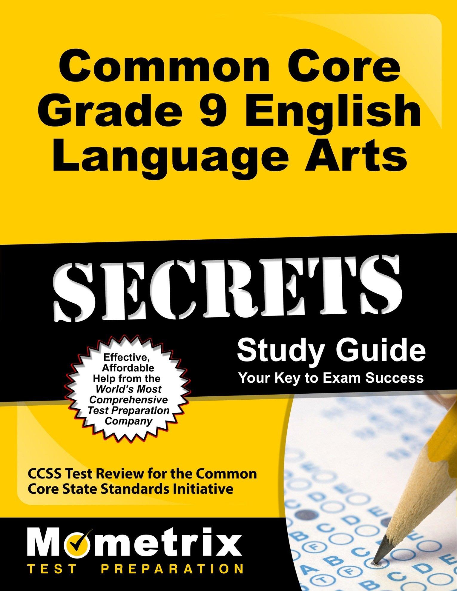 Common Core Grade 9 English Language Arts Secrets Study