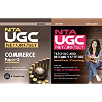 COMBO OF Ugc Net Commerce AND UGC NET General Paper-1 Teaching & Research Aptitude FOR 2019 EXAMINATION