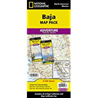 Baja California, Mexico, Map Pack Bundle (Adventure Map)