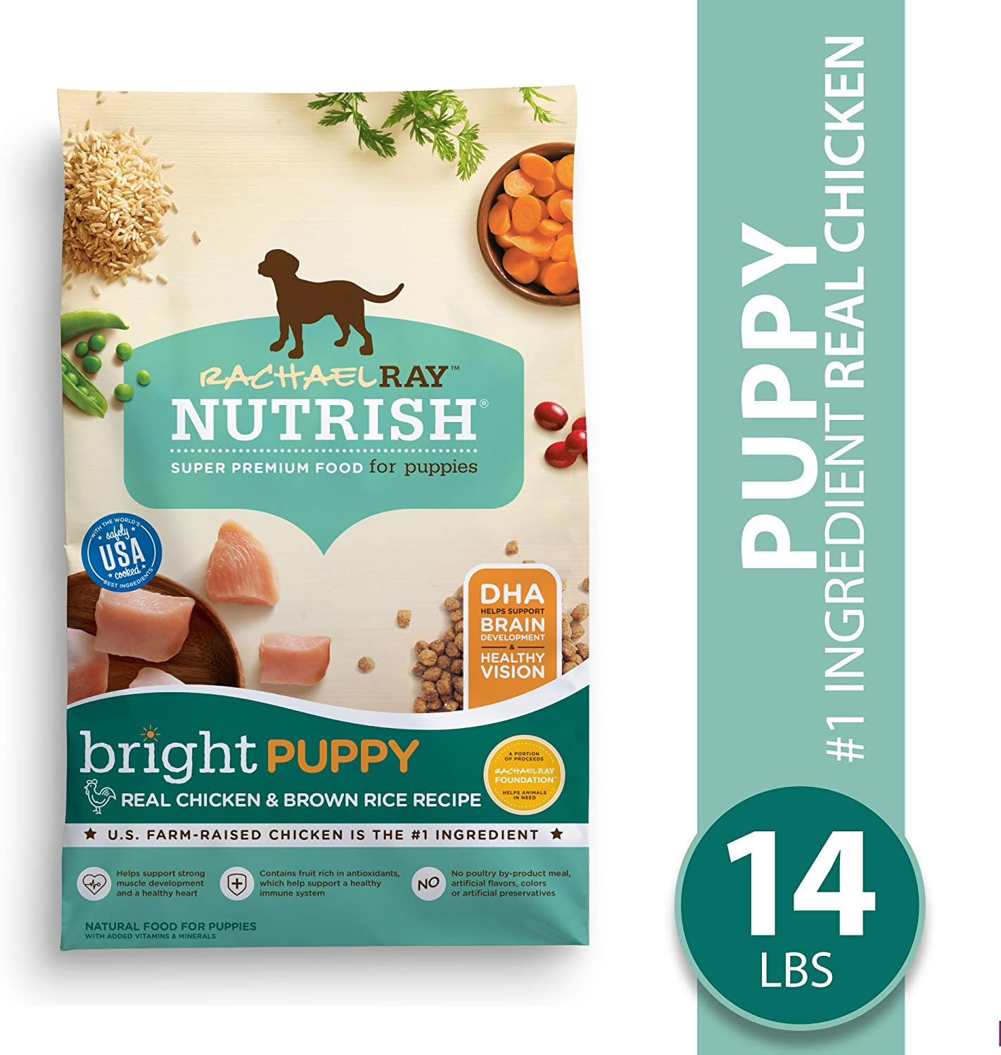 Rachael Ray Nutrish Bright Puppy Natural Premium Dry Dog Food