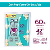ACT II Instant Diet Popcorn, 60% Less Salt, 70g