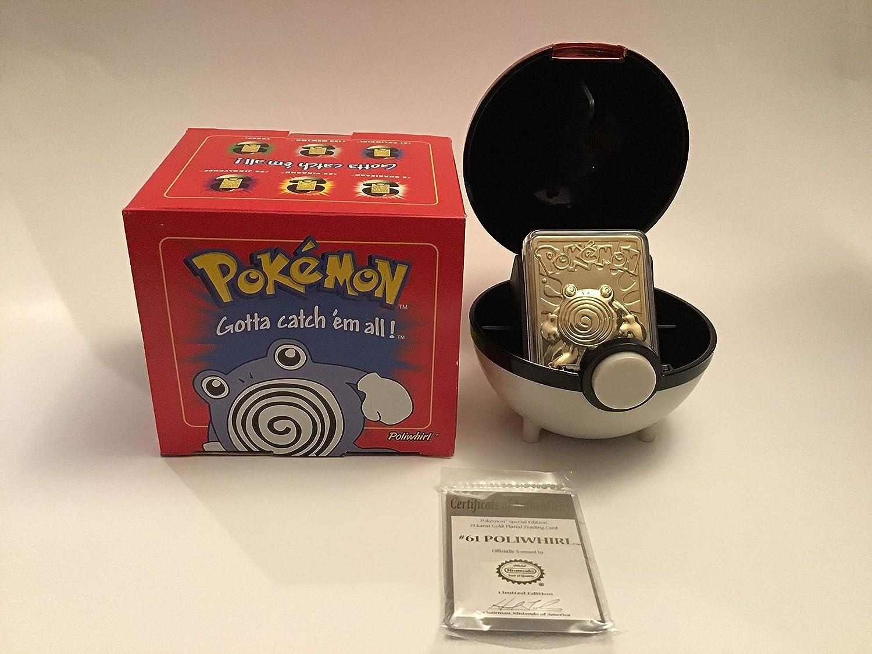 Pokemon 23k Gold Plated Trading Card Jigglypuff Brand New Sealed Burger King