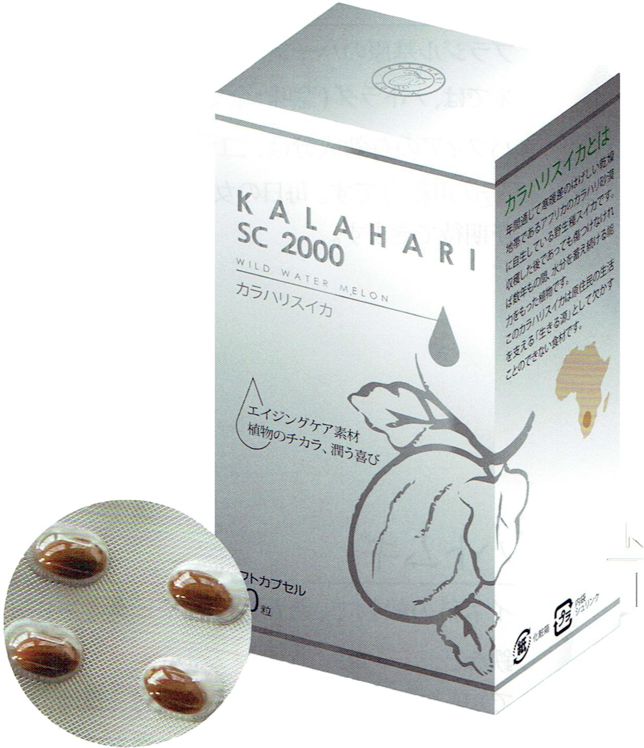 KALAHARI (カラハリ)SC 2000 60粒 B01M7QPAZF
