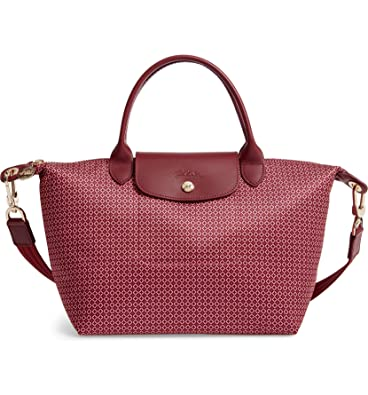 a5322bd549 Longchamp 'Medium Le Pliage Neo' Nylon Top Handle Tote Shoulder Bag ...