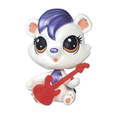 Littlest Pet Shop Single Pet Berry Lively: Toys & Games