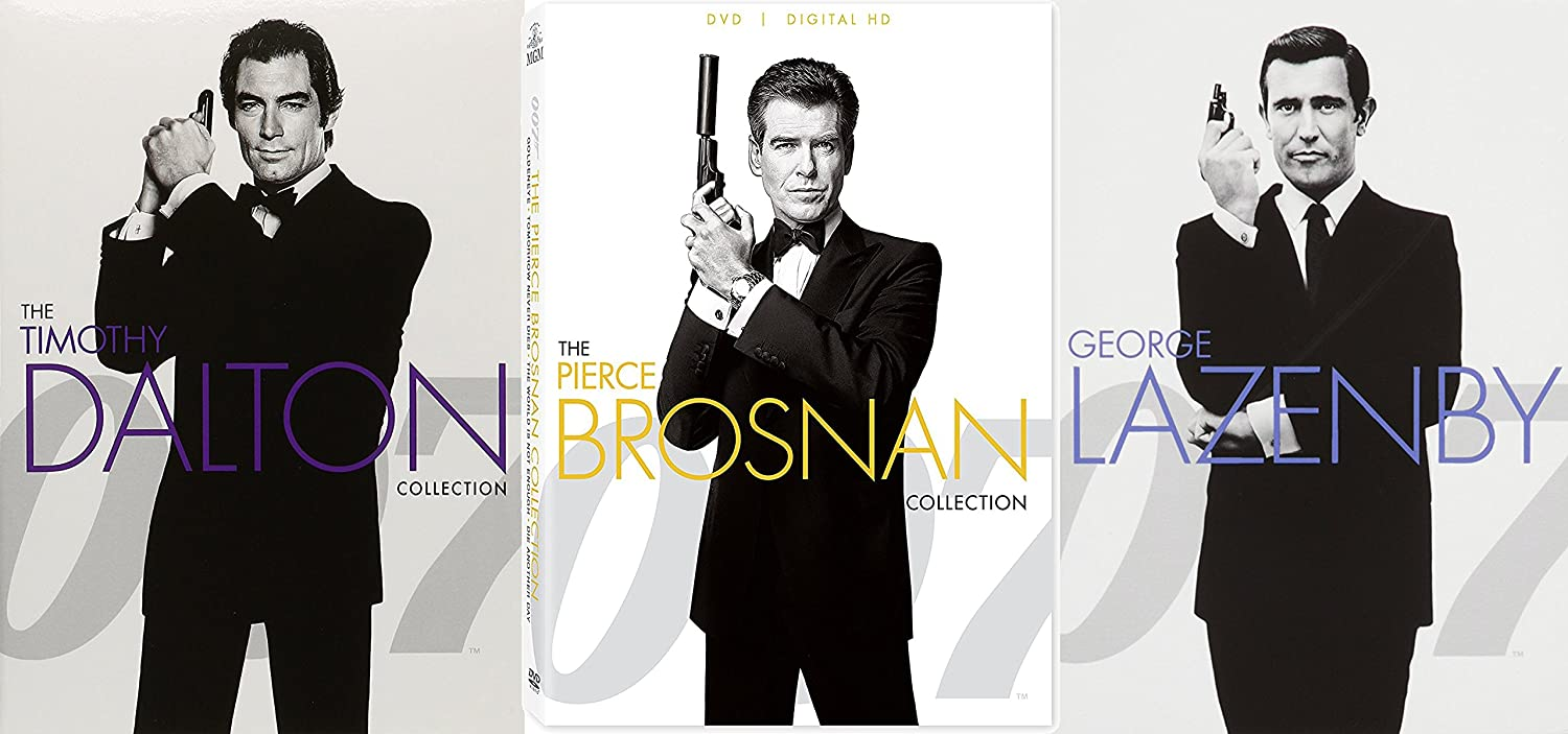 Amazon Com James Bond 007 Pierce Brosnan Timothy Dalton