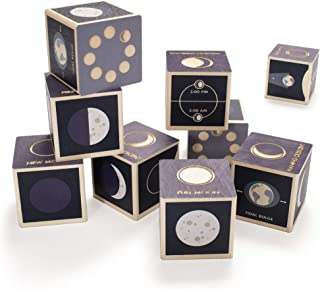 product image for Uncle Goose Moon Phase Blocks - Made in The USA