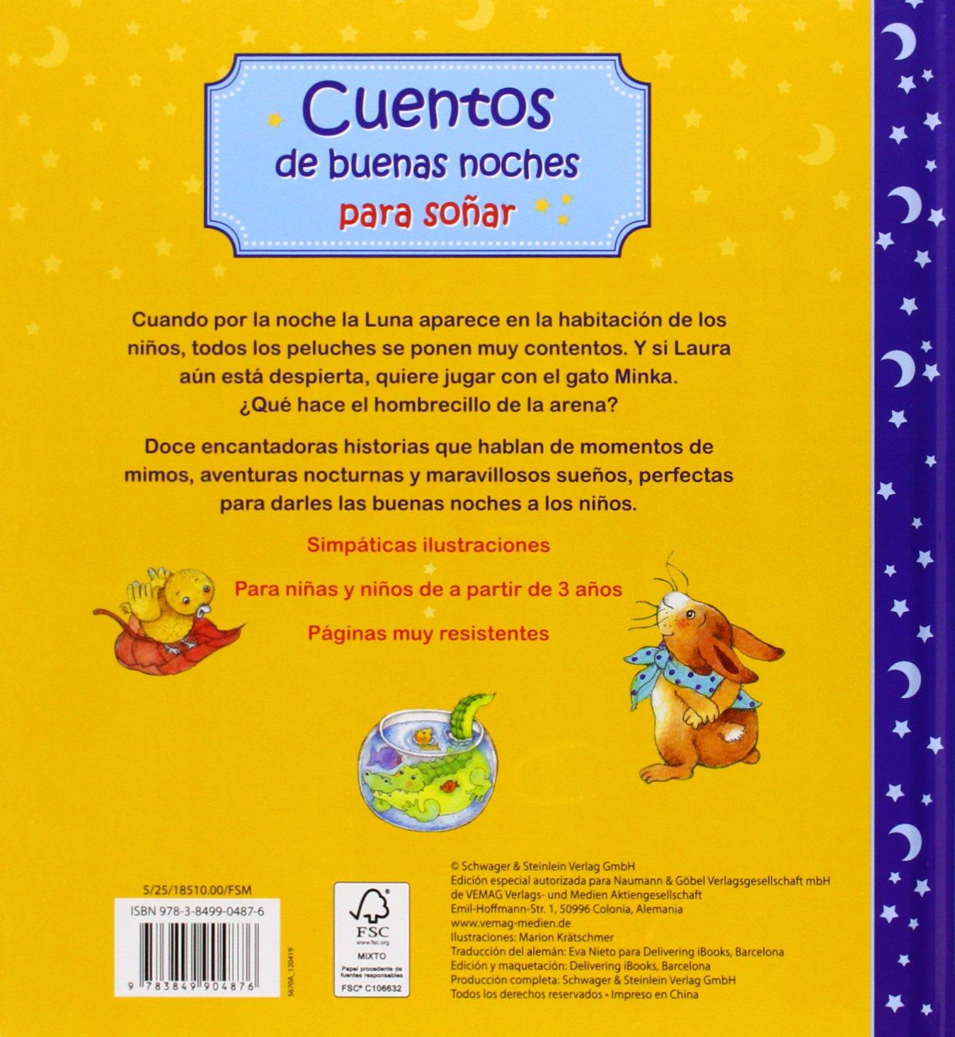 CUENTOS DE BUENAS NOCHES PARA SO�AR-NGV: KRATSCHMER(904876): 9783849904876: Amazon.com: Books
