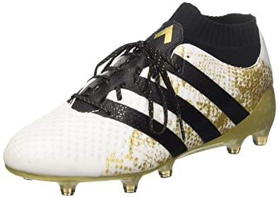 watch ab353 400d4 adidas Ace 16.1 Primeknit S76474, Chaussures de Football Homme, Multicolore  (Ftwwht Cblack