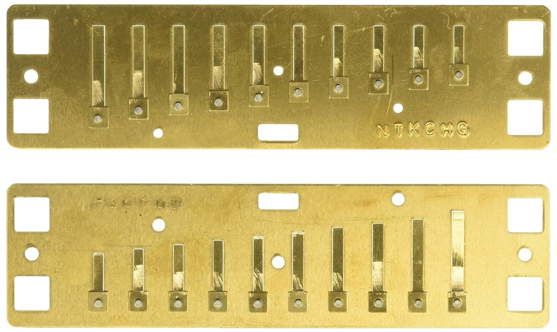 Lee Oskar 1910RP - Juego de lengüetas para armónicas diatónica en ...