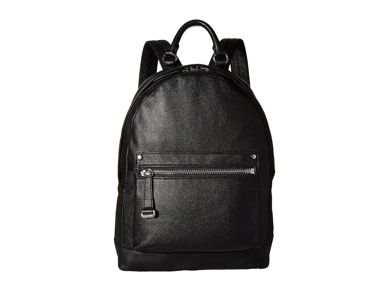 [フライ] Frye レディース Natalie Moto Backpack バックパック [並行輸入品] B01MTQ4OUD Black Soft Pebbled Leather