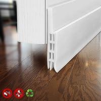 BAINING Door Draft Stopper Door Sweep For Exterior/Interior Doors,  Weatherproofing Door Seal Strip