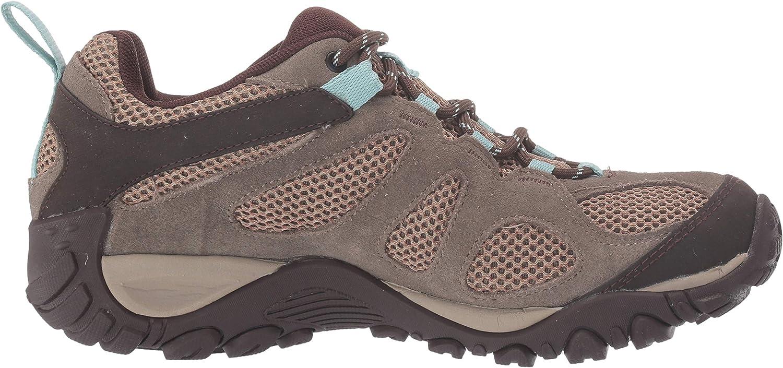   Merrell Women's Yokota 2 Hiking Shoe, Boulder, 8   Hiking Shoes