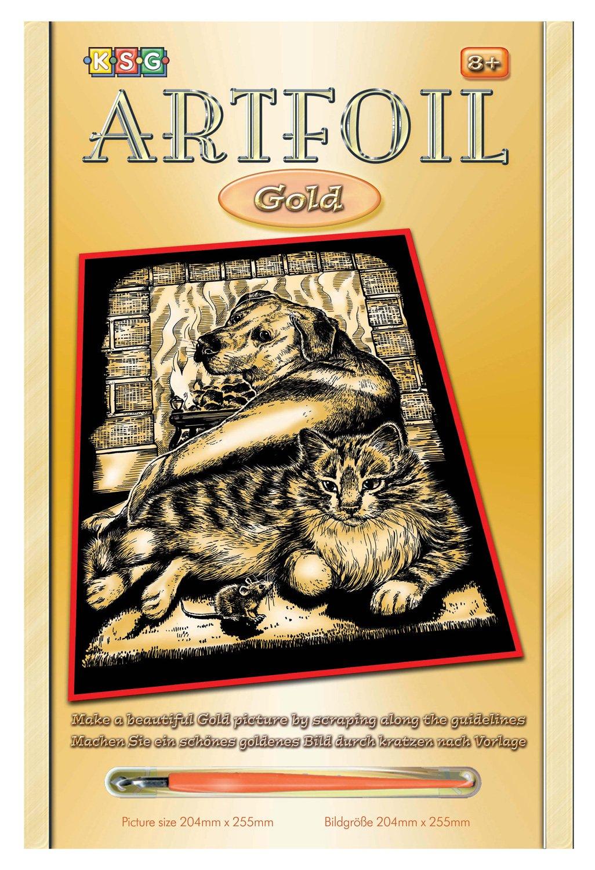 Mammut 8260604 - Artfoil-Tierfreunde, ca. 25,5 x x x 20,4 cm, Gold B004OBH1NA | Qualität Produkt  12f38e