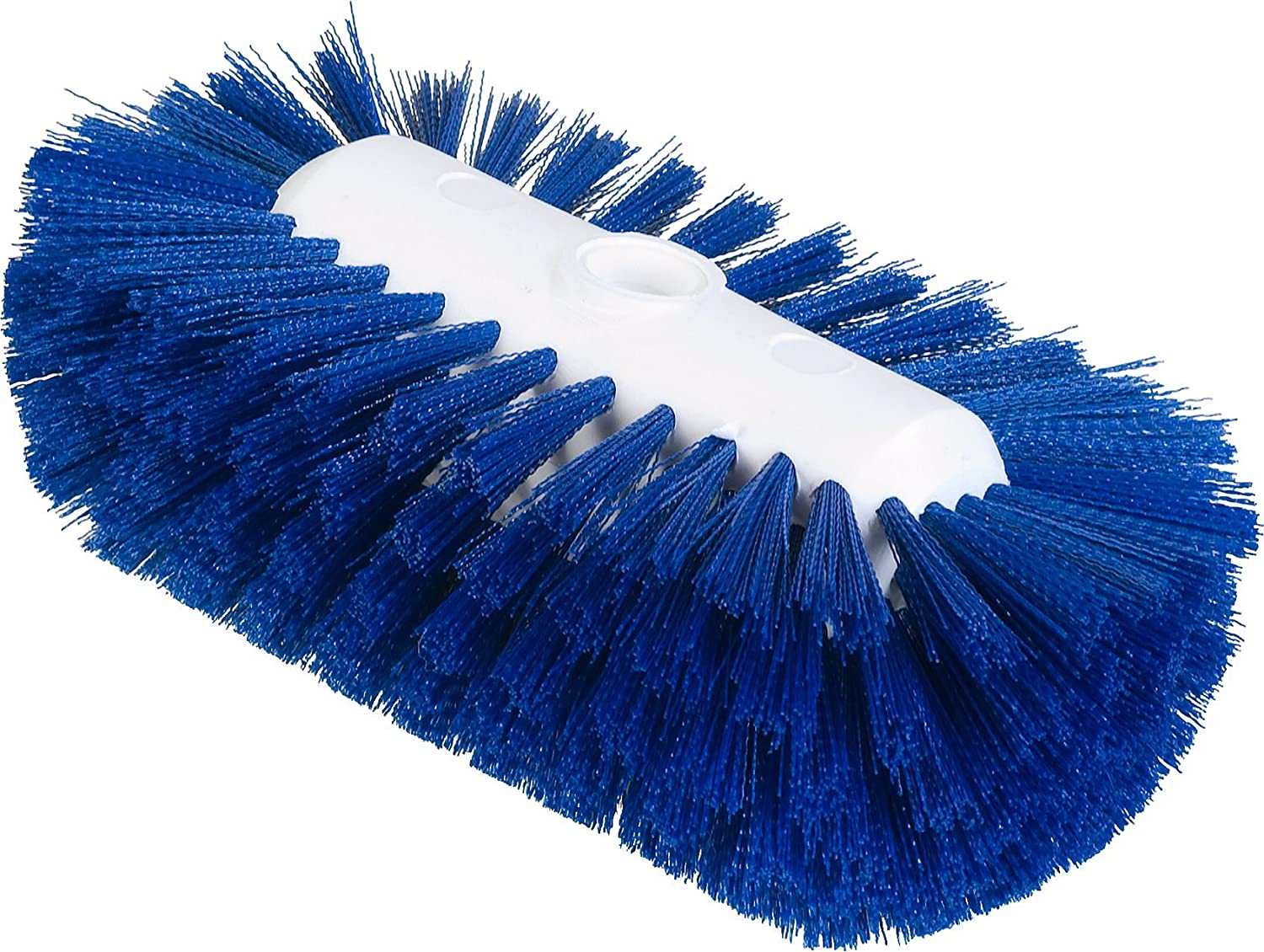 Case of 12 9-1//2 x 5-1//2 W Carlisle 4004314 Sparta Spectrum Flare Head Tank and Kettle Brush Blue Polyester Bristles