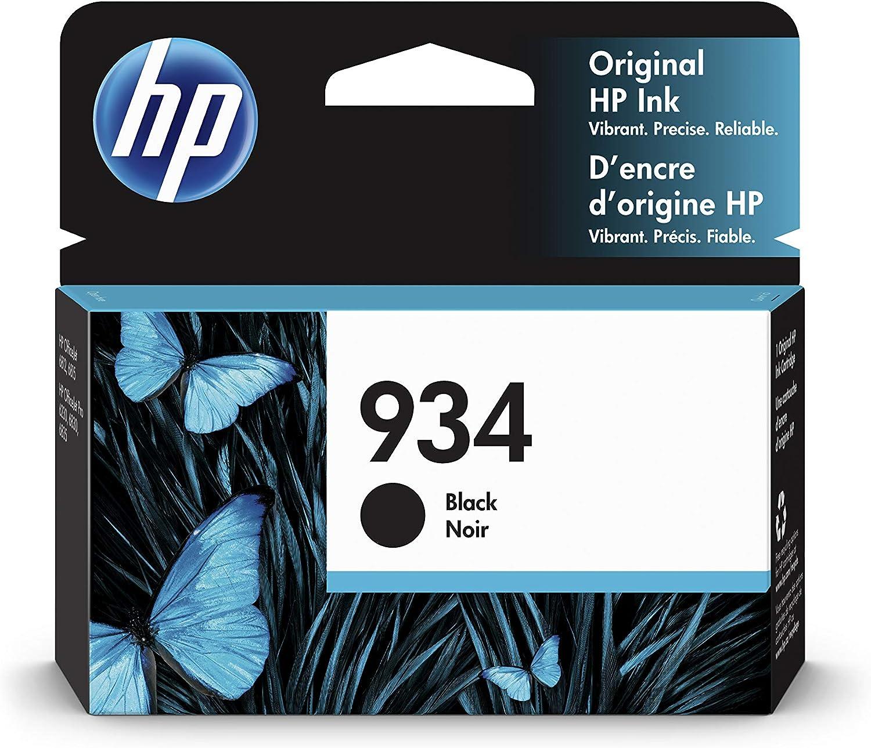 HP 934   Ink Cartridge   Black   C2P19AN, Standard
