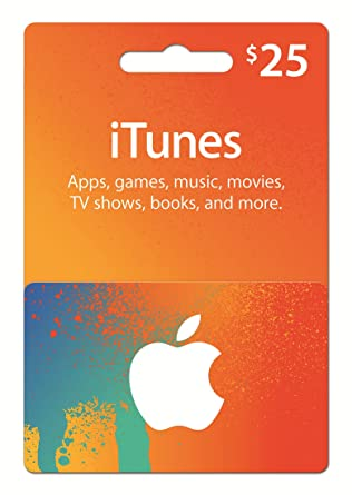 Amazon.Com: Itunes Gift Card $25: Gift Cards