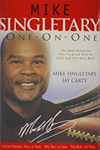 Mike Singletary One-on-one (One-On-One Adventure Gamebook)