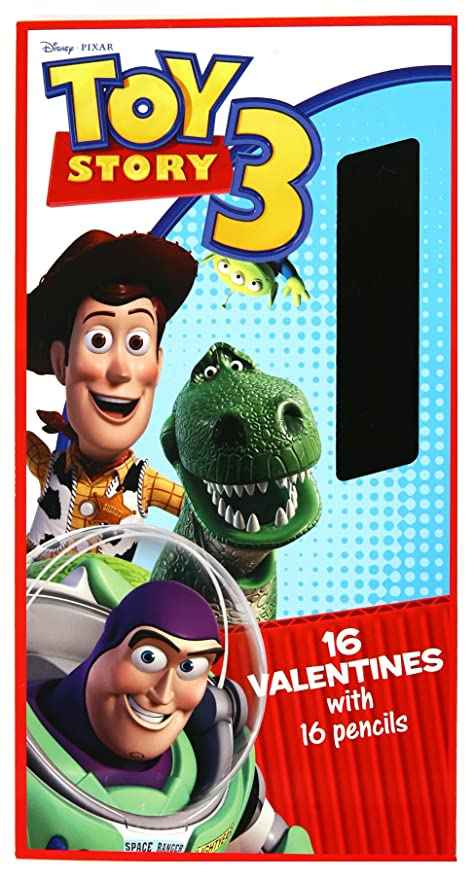 Amazon Com Paper Magic Toy Story 3 Valentines Trading Cards And