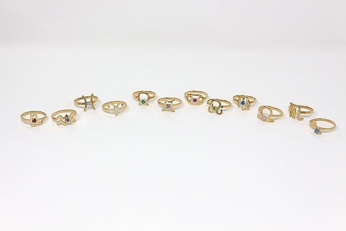 CaliRoseJewelry Yellow Gold 14k Taurus Zodiac Horoscope Ring