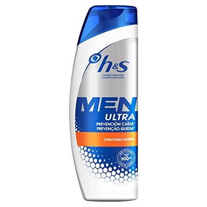 Head & Shoulders Men Prevención Caída Champú Anticaspa - 600 ml