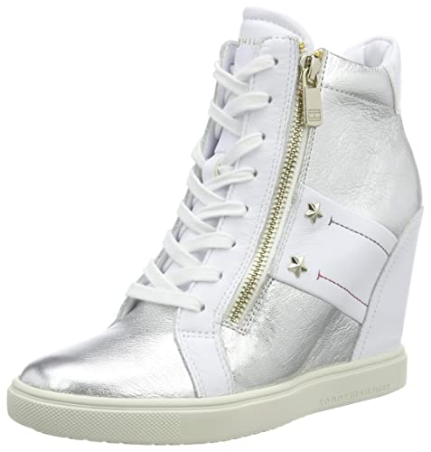 Tommy Hilfiger Tommy Wedge Sneaker, Sneakers Basses Femme