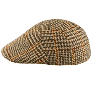 ba71fe2aaac2d Sterkowski  quot Ivy Five Harris Tweed 5 Panel Applejack Flat Cap US 6 3