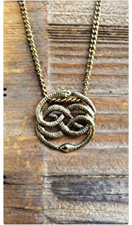 Amazon neverending story auryn pendant other products neverending story antique bronze necklace auryn necklace long or choker never ending story mozeypictures Choice Image