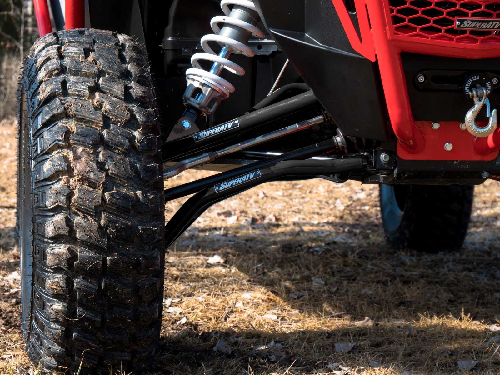 SuperATV High Clearance A-Arms for Polaris RZR XP 1000 / XP 4 1000 (2014+) - Upper and Lower Arms - Black by SuperATV.com (Image #3)