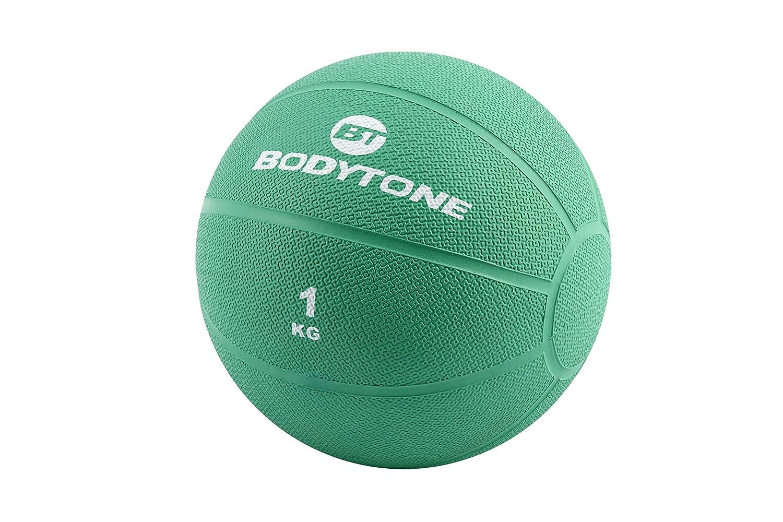 BT BODYTONE Balón Medicinal de Goma de 1kg para Entrenamiento ...
