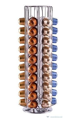 Porte-capsules Nespresso KRUPS rotatif   Distributeur avec capacité de 60 capsules  de café   d187aef84e1e