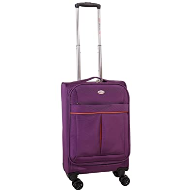 American Flyer Simply Lite 25 Inch Upright Spinner Luggage, Purple, One Size