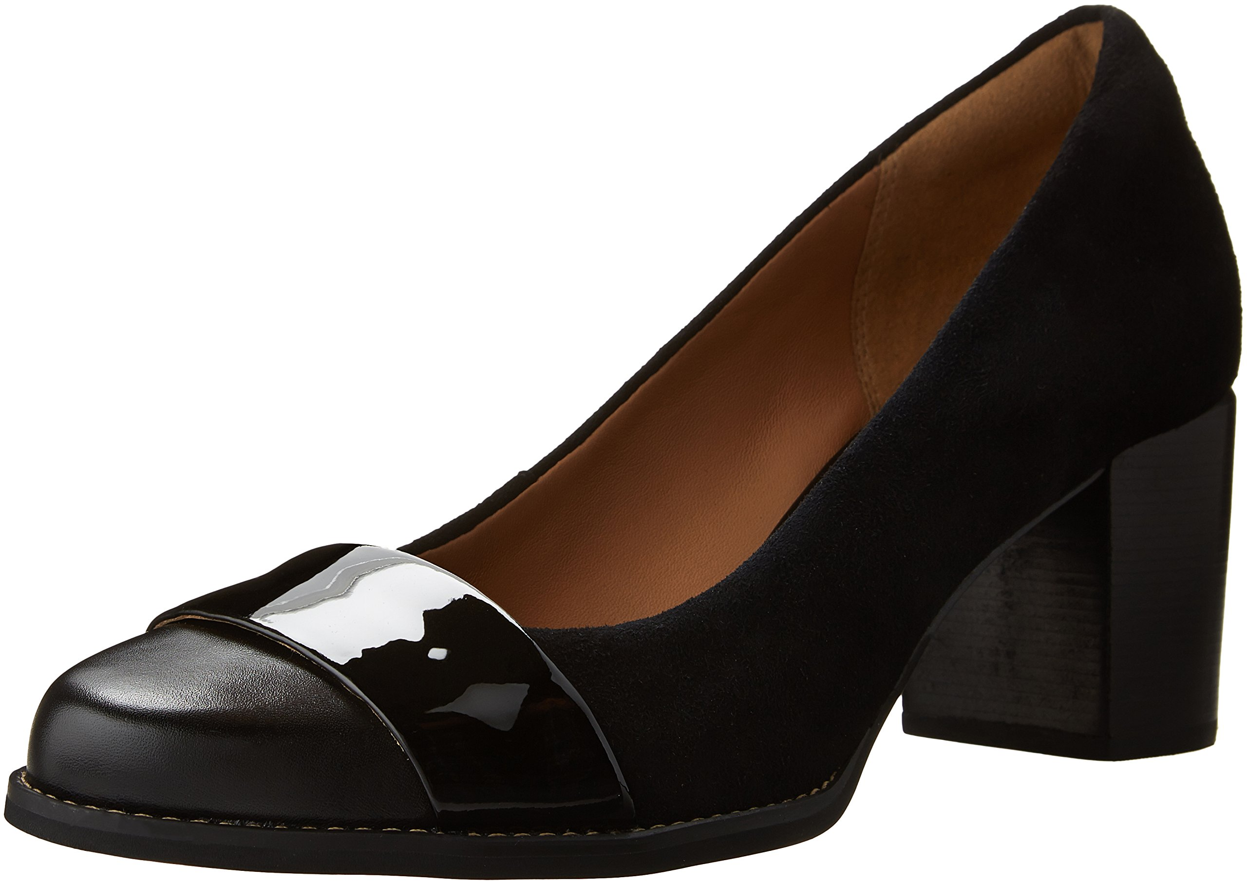 Clarks Women's Tarah Brae Dress Pump, Black Combi, 12 M US