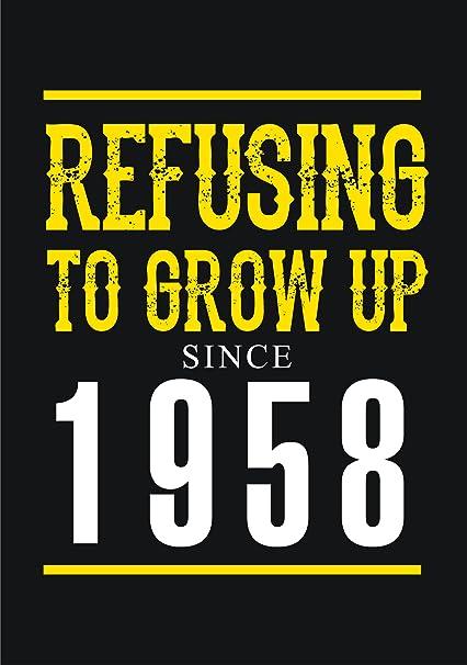 vectorbomb 1958, ya que se niegan a crecer desde 1958, 59th ...