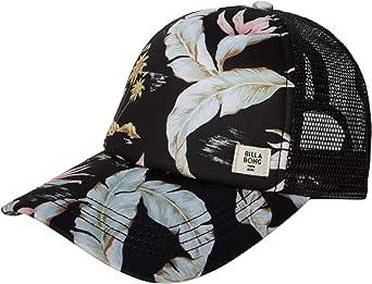 BILLABONG Women's Heritage Mashup Adjustable Trucker Hat with Mesh Back