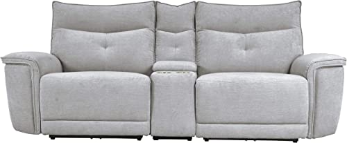 "Homelegance 93"" Power Double Reclining Loveseat"