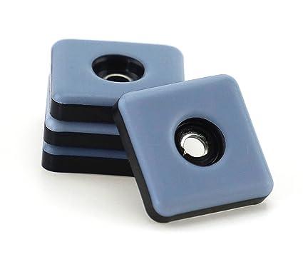 DFM - Tacos para muebles (16 25 mm x 25 mm - 5 mm de espesor incluye ...