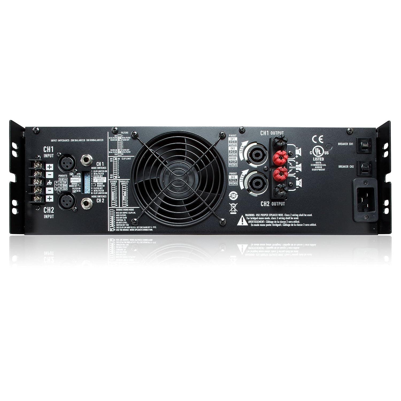 RMX 4050a Etapa de potencia, 2x 1400W / 4Ohmios: Amazon.es: Instrumentos musicales
