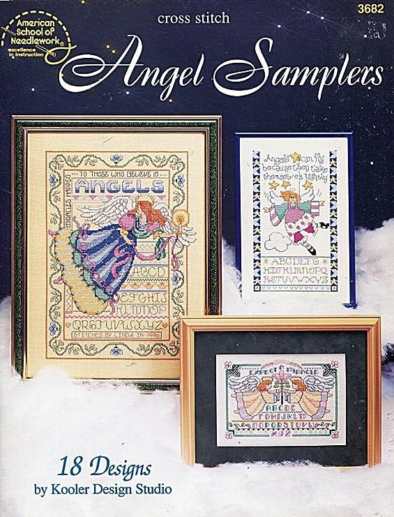 Amazon Com Angel Samplers Cross Stitch Charts 18 Designs By Kooler Design Studio Arts Crafts Sewing