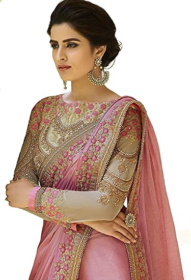 Heavy Party Wear Blouse Design For Heavy Work Saree