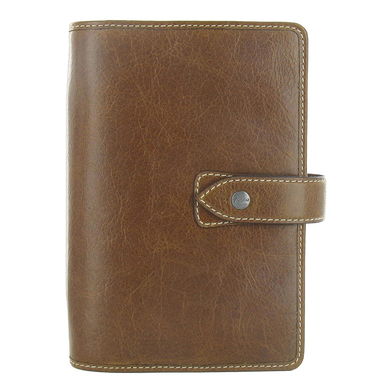 Filofax 2020 Malden Personal Organizer, Leather, Ochre, Paper Size 6.75 x 3.75 inches (C025808-20)