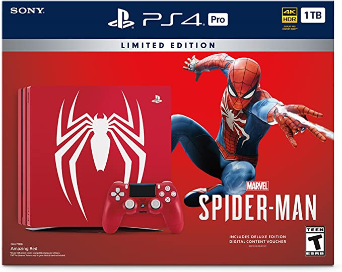 Sony Edición consola PlayStation 4 Pro 1 TB limitada - de Marvel ...