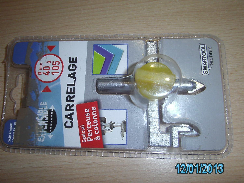 Smartool 982662 M/êche /à percer les carreaux extensible /ø40 /à 105